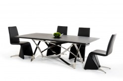 VIG Modrest Labyrinth Wenge Dining Table Available Online in Dallas Fort Worth Texas