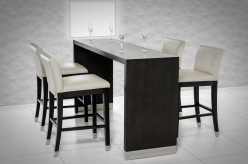 VIG Silas Wenge Wood Bar Table Available Online in Dallas Fort Worth Texas