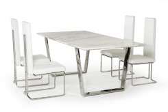 VIG Heidi Marble Dining Table Available Online in Dallas Fort Worth Texas