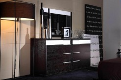 VIG Gamma Wenge Mirror Available Online in Dallas Fort Worth Texas