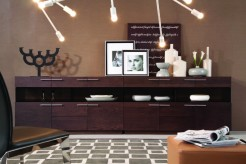 VIG Daytona Brown Oak Buffet Available Online in Dallas Fort Worth Texas