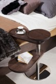 VIG Abseil Brown Oak End Table Available Online in Dallas Fort Worth Texas