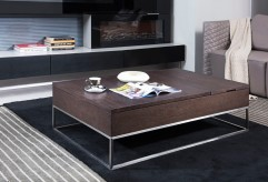 VIG Engo Brown Oak Coffee Table Available Online in Dallas Fort Worth Texas