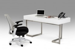 VIG Sharp White Office Desk Available Online in Dallas Fort Worth Texas