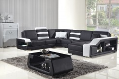 VIG Divani Casa Black & White B... Available Online in Dallas Fort Worth Texas