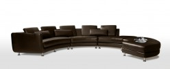 VIG Divani Casa Leather Section... Available Online in Dallas Fort Worth Texas
