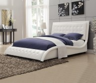 Tully White Queen Bed Available Online in Dallas Fort Worth Texas