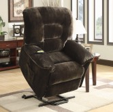 Coaster Brent Power Lift Chair Recliner Available Online in Dallas Fort Worth Texas