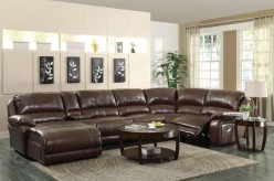 Coaster Mackenzie Chestnut Sectional Available Online in Dallas Fort Worth Texas