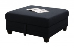 Coaster Keaton Blue Storage Ottoman Available Online in Dallas Fort Worth Texas