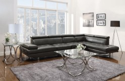 Coaster Piper Charcoal Sectional Available Online in Dallas Fort Worth Texas