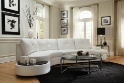 Coaster Talia Bonded Leather Sectional Available Online in Dallas Fort Worth Texas