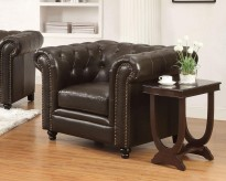 Roy Tufted Chair Available Online in Dallas Fort Worth Texas