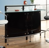 The Modern Curved Bar Table Available Online in Dallas Texas