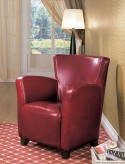 Coaster Randall Red Accent Chair Available Online in Dallas Fort Worth Texas