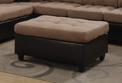 Mallory Tan Ottoman Available Online in Dallas Fort Worth Texas