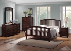 Coaster Tia Arched Queen 5pc Bedroom Set Available Online in Dallas Fort Worth Texas