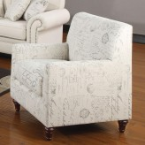 Norah French Script Chair Available Online in Dallas Fort Worth Texas