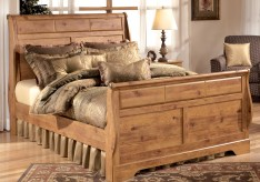 Bittersweet Queen Sleigh Bed Available Online in Dallas Fort Worth Texas