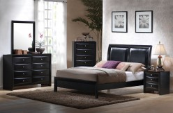 Briana 5pc Queen Low Profile Bedroom Group Available Online in Dallas Fort Worth Texas