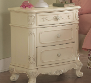 Cinderella White Night Stand Available Online in Dallas Fort Worth Texas