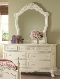Cinderella White Dresser Available Online in Dallas Fort Worth Texas