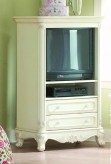Homelegance Cinderella White Armoire Available Online in Dallas Fort Worth Texas
