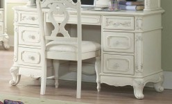 Homelegance Cinderella White Desk Available Online in Dallas Fort Worth Texas
