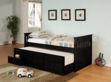 La Salle Black Twin Captain Daybed Available Online in Dallas Fort Worth Texas