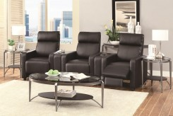 Toohey 5pc Black Media Seating Available Online in Dallas Fort Worth Texas