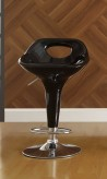 Homelegance Ride Scoop Back Black Barstool Available Online in Dallas Fort Worth Texas