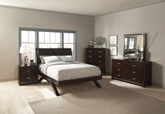 Astrid King 5pc Platform Bedroom Group Available Online in Dallas Fort Worth Texas