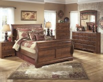 Ashley Timberline 5pc Queen Sleigh Bedroom Group Available Online in Dallas Fort Worth Texas