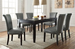 Coaster Newbridge Gray 7pc Dining Room Set Available Online in Dallas Fort Worth Texas