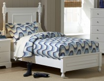 Morelle White Twin Bed Available Online in Dallas Fort Worth Texas