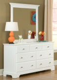 Homelegance Morelle White Dresser Available Online in Dallas Fort Worth Texas