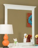 Morelle White Mirror Available Online in Dallas Fort Worth Texas