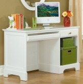 Homelegance Morelle White Writing/Computer Desk Available Online in Dallas Fort Worth Texas
