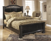 Ashley Constellations Queen Poster Bed Available Online in Dallas Fort Worth Texas