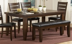 Ameillia Dark Oak Dining Table Available Online in Dallas Fort Worth Texas