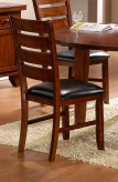 Homelegance Ameillia Dark Oak Side Chair Available Online in Dallas Fort Worth Texas