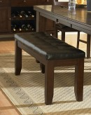 Ameillia Dark Oak 60''Bench Available Online in Dallas Fort Worth Texas