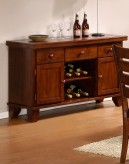 Ameillia Dark Oak Server Available Online in Dallas Fort Worth Texas