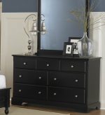 Morelle Black Dresser Available Online in Dallas Fort Worth Texas