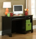 Morelle Black Writing/Computer Desk Available Online in Dallas Fort Worth Texas