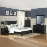 Morelle Black Queen 5pc Bedroom Group Available Online in Dallas Fort Worth Texas