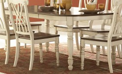 Homelegance Ohana White Oval Dining Table Available Online in Dallas Fort Worth Texas