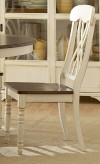 Homelegance Ohana White Side Chair Available Online in Dallas Fort Worth Texas
