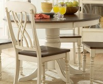 Ohana White Round Dining Table Available Online in Dallas Fort Worth Texas