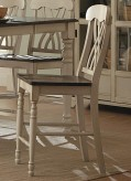 Homelegance Ohana White Counter Height Chair Available Online in Dallas Fort Worth Texas